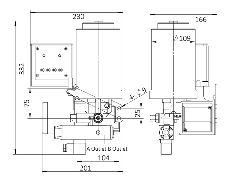 AHG3-安装尺寸