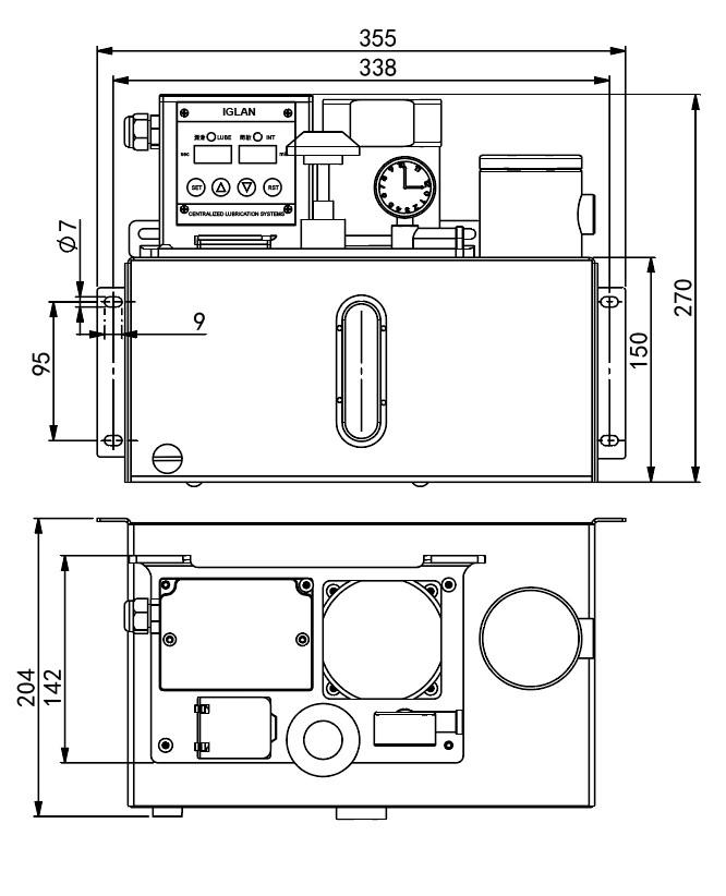 AMH1安装尺寸