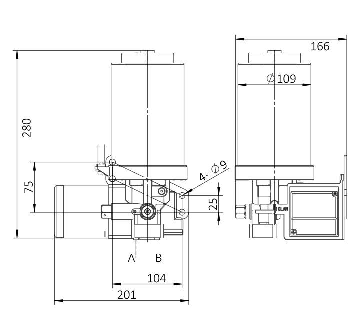 AHGS2-安装尺寸