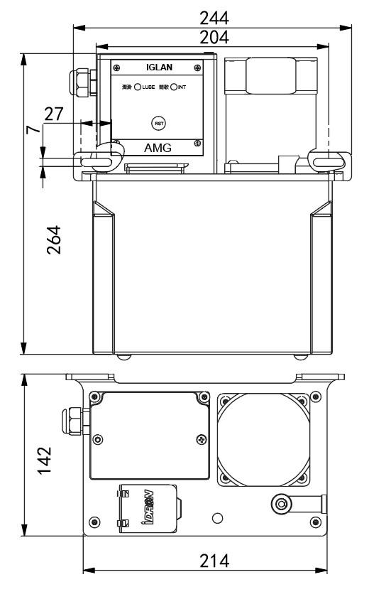 AMG2-安装尺寸
